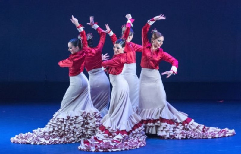 7th March 2020 The Carmen and Matilde Rubio dance company at the Auditorio Víctor Villegas in Murcia