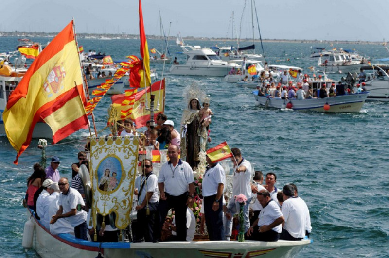 <span style='color:#780948'>ARCHIVED</span> - 15th to 17th June Fiestas of the Virgen del Carmen in San Pedro del Pinatar