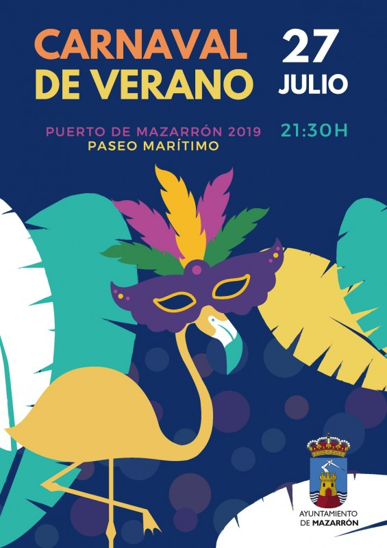 <span style='color:#780948'>ARCHIVED</span> - Saturday 27th July Puerto de Mazarrón summer carnival parade