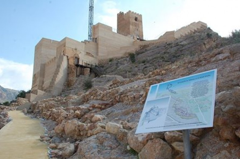 <span style='color:#780948'>ARCHIVED</span> - 22nd August; ENGLISH language castle tour in Alhama de Murcia