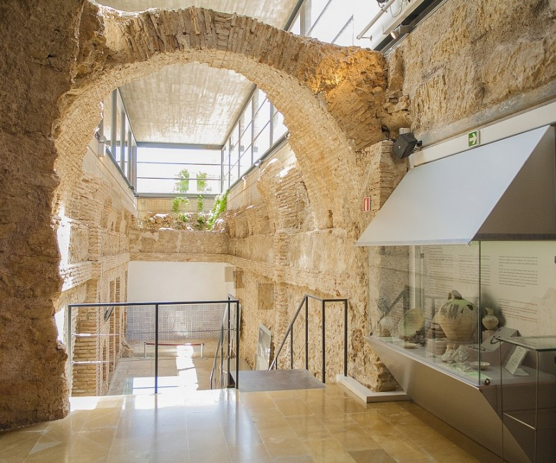 <span style='color:#780948'>ARCHIVED</span> - 13th August  Alhama de Murcia: Free ENGLISH guided tour of the Los Baños thermal baths and archaeological museum