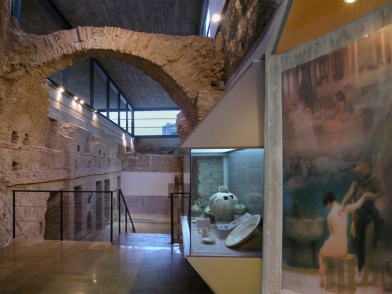 <span style='color:#780948'>ARCHIVED</span> - 30th July Alhama de Murcia: Free ENGLISH guided tour of the Los Baños thermal baths and archaeological museum