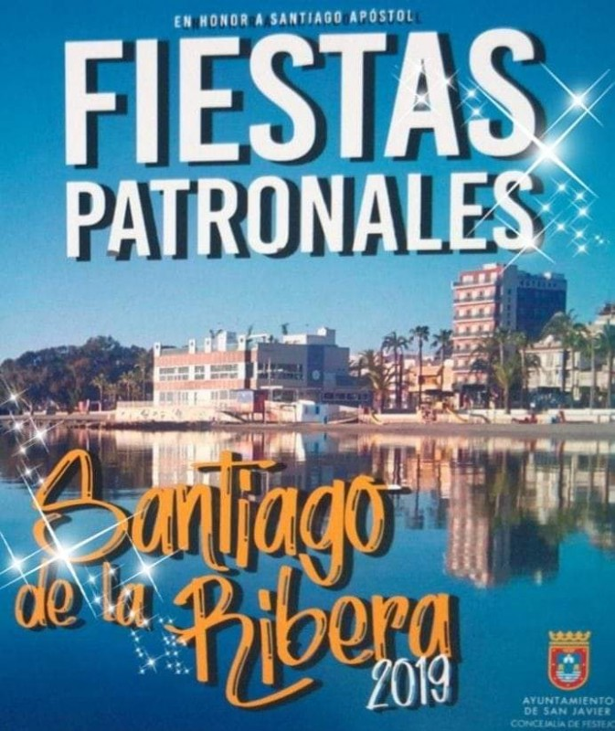 11th July to  24th August, summer fiestas in Santiago de la Ribera