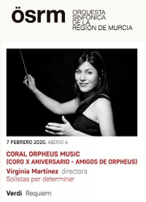 7th February 2020 Verdi's Requiem at the Auditorio Víctor Villegas in Murcia