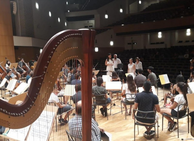 <span style='color:#780948'>ARCHIVED</span> - 9th May 2020 the Murcia Youth Orchestra at the Auditorio Víctor Villegas in Murcia