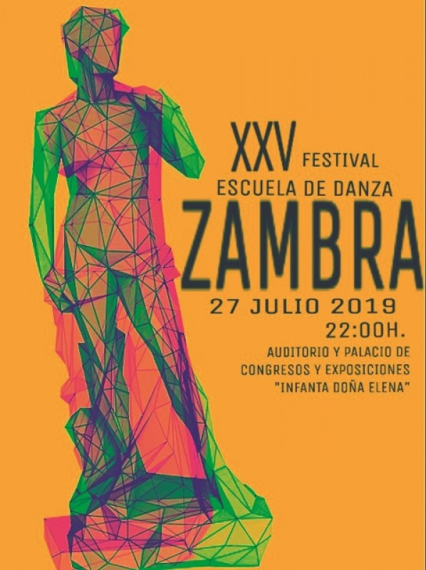 <span style='color:#780948'>ARCHIVED</span> - Saturday 27th July Águilas; XXV Festival escuela de danza Zambra