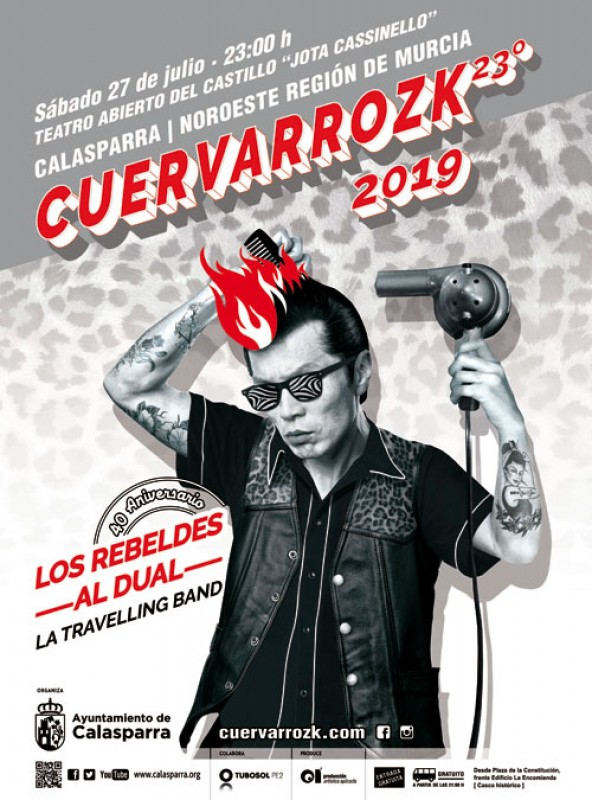 <span style='color:#780948'>ARCHIVED</span> - 27th July Free rock in the castle of Calasparra: Cuervarrozk 2019