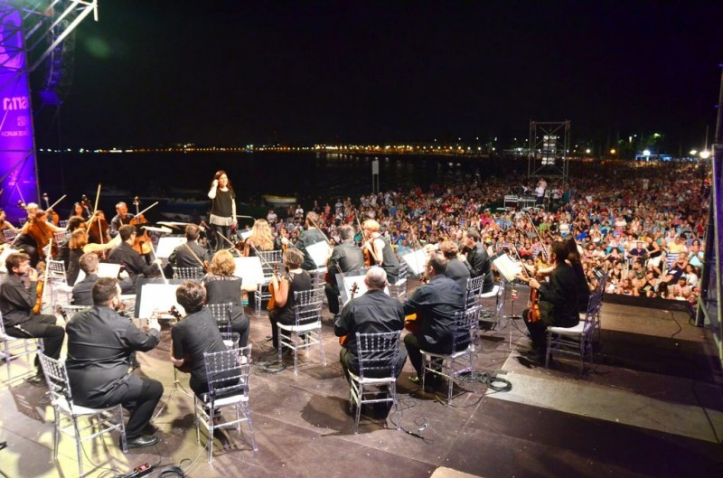 <span style='color:#780948'>ARCHIVED</span> - 27th July Orchestral concert on the beach of Los Narejos, Los Alcázares with the OSRM
