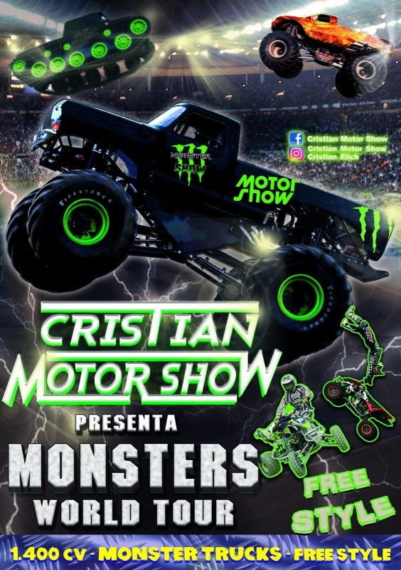 19th, 20th and 21st July Cristian Motor Show in Totana