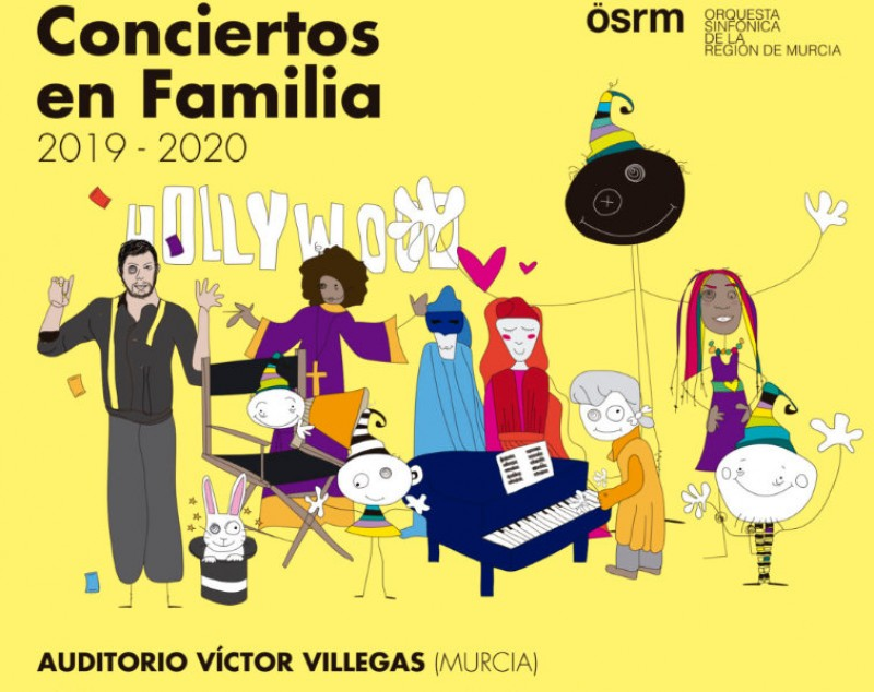Tickets on sale for the 2019-20 family concert cycle at the Auditorio Víctor Villegas de Murcia