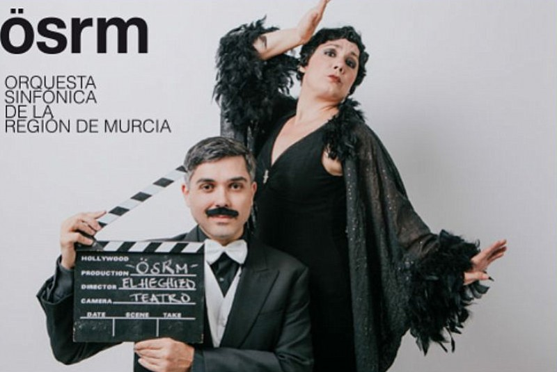 15th March 2020 music from the movies :family concert season at the Auditorio Víctor Villegas in Murcia