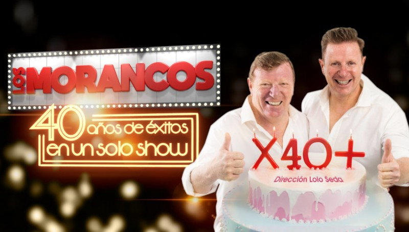 12th October 2019 Los Morancos live on stage at the Auditorio Víctor Villegas in Murcia