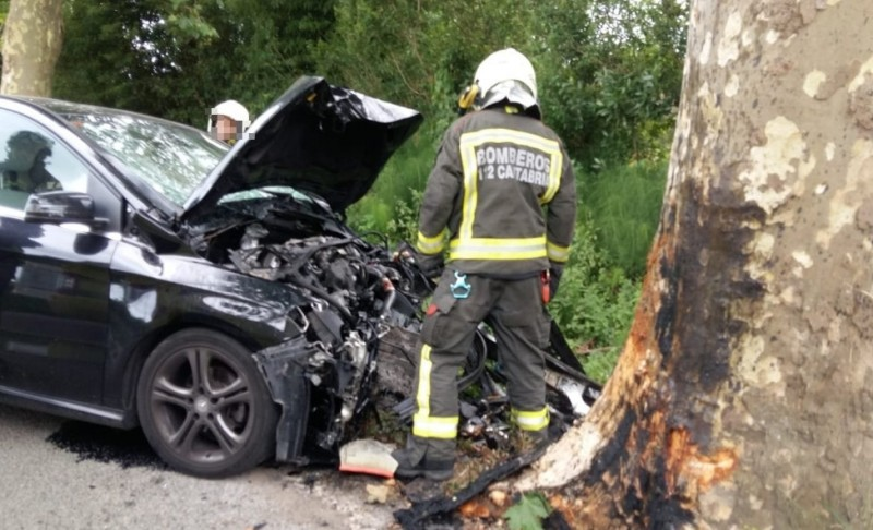 <span style='color:#780948'>ARCHIVED</span> - Police find a woman in Cantabria murdered after her husband dies in a car crash