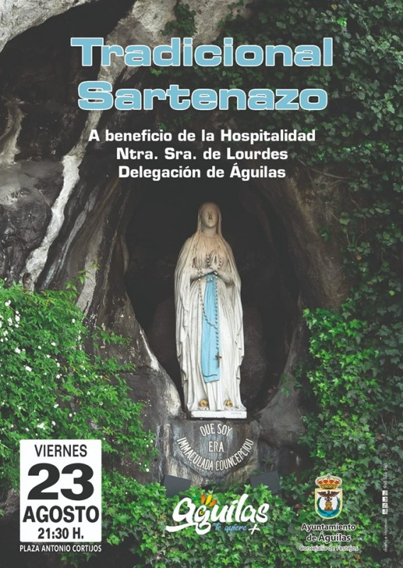 Friday 23rd August benefit Sartenazo for the Hospitalidad de Lourdes in Águilas