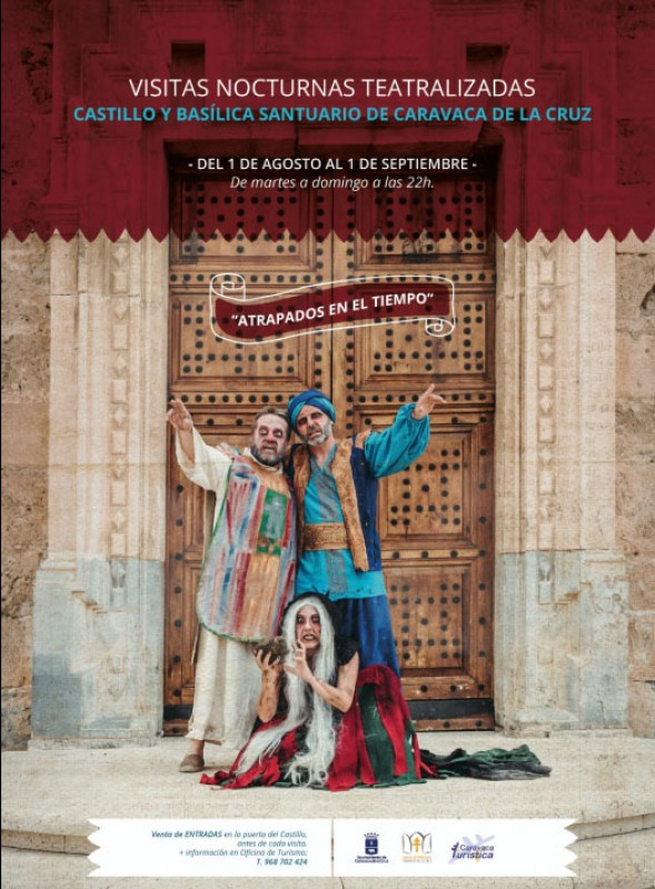 Nocturnal theatrical tours of Caravaca de la Cruz throughout August