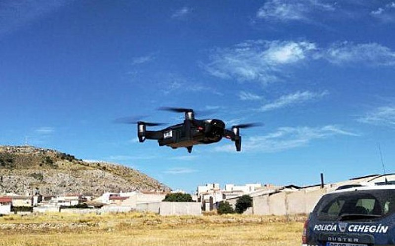 <span style='color:#780948'>ARCHIVED</span> - Police drone in Cehegín will be used to locate hidden marijuana plantations