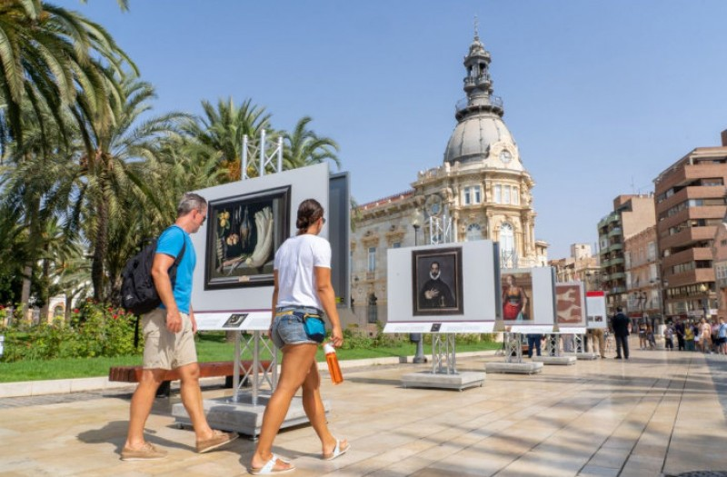 <span style='color:#780948'>ARCHIVED</span> - The Prado roadshow comes to Cartagena; art in the open air throughout August