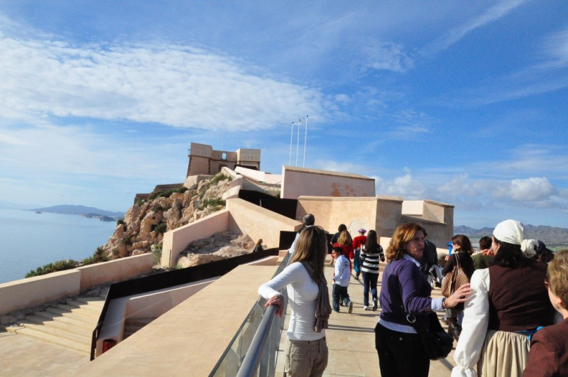 Sunday 8th September FREE guided theatrical tour of Águilas