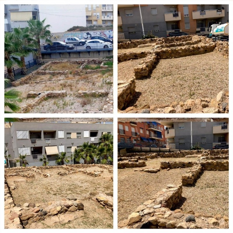 <span style='color:#780948'>ARCHIVED</span> - Clean-up of Roman remains in Puerto de Mazarrón