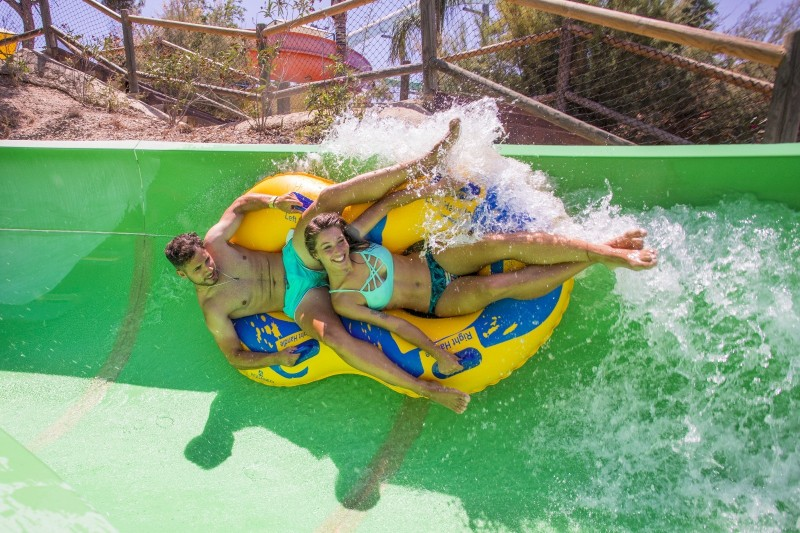 Terra Natura water park in Murcia: pay for one day, go back the next day again free