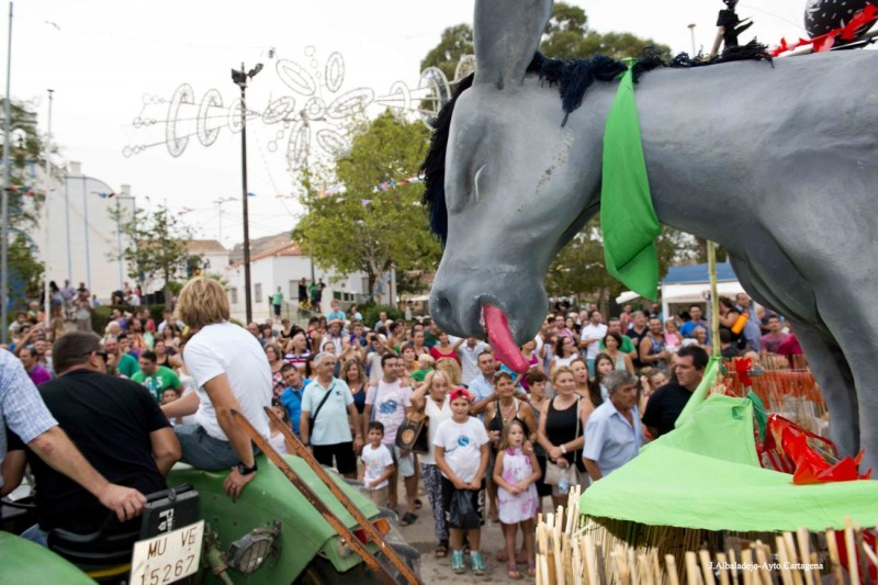 <span style='color:#780948'>ARCHIVED</span> - 8th to 18th August Fiestas in Perín Cartagena, including the hanging of the donkey