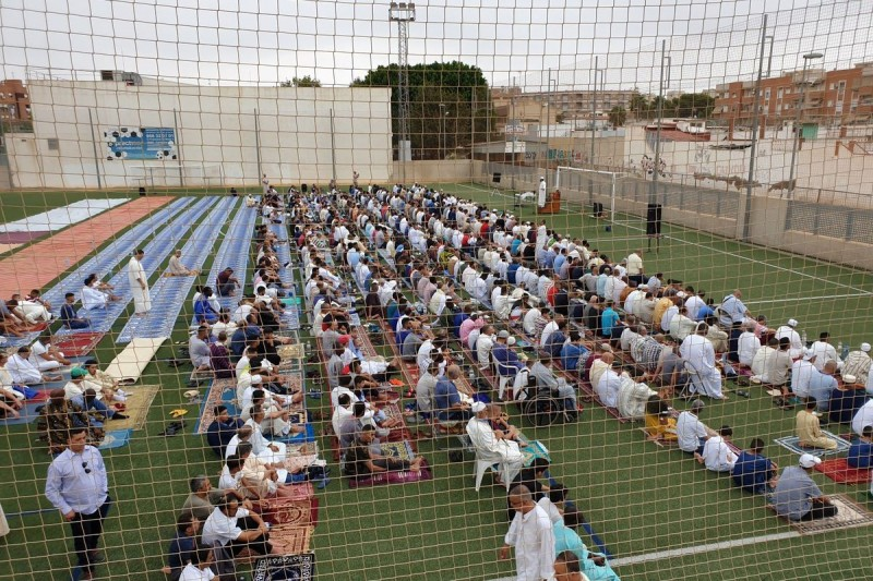 Muslims in Cartagena celebrate the Feast of the Sacrifice