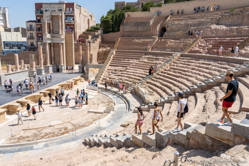 September tours and guided activities at the Roman Theatre Museum in Cartagena