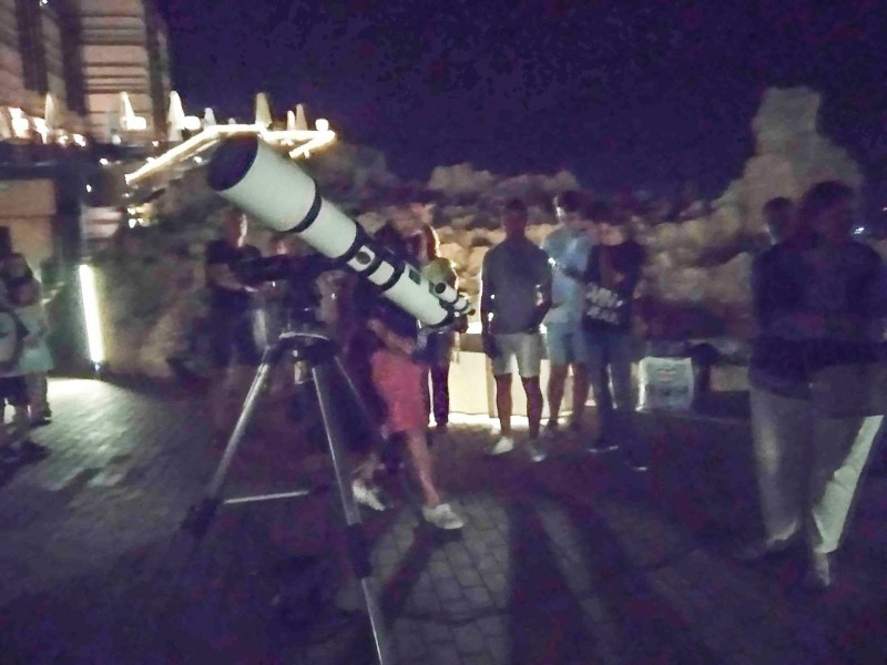 Astronomical observation in Águilas: available throughout the year