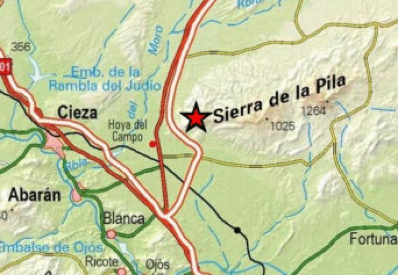Murcia Today - Minor Earthquakes In Fortuna And Blanca On