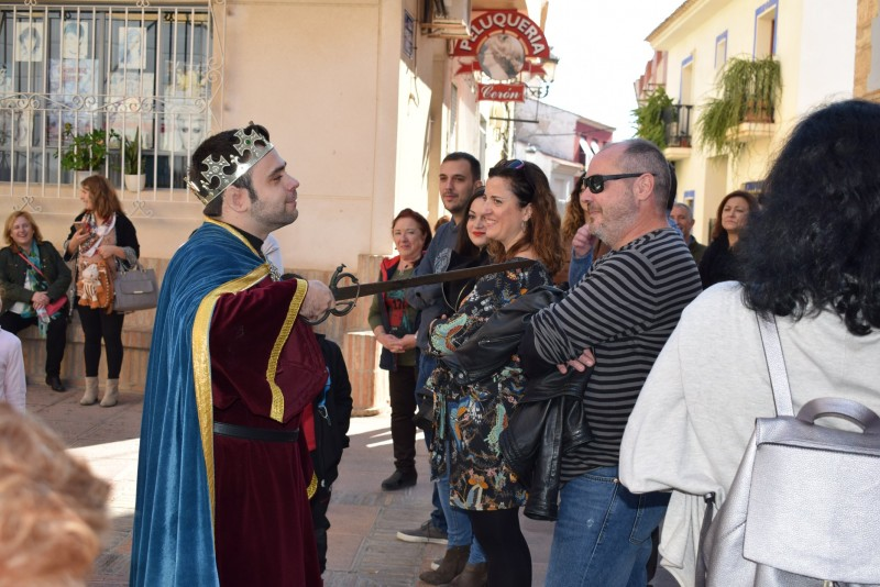 Sunday 20th October Free theatrical guided tour of Alhama de Murcia