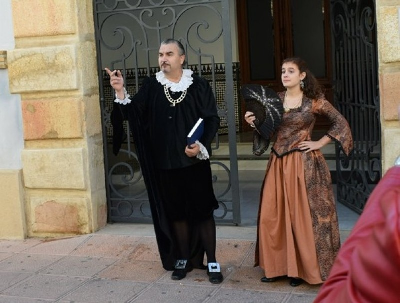 Sunday 15th December Free theatrical guided tour of Alhama de Murcia