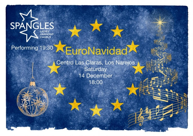 Saturday 14th December EuroNavidad Christmas Fair Los Alcázares
