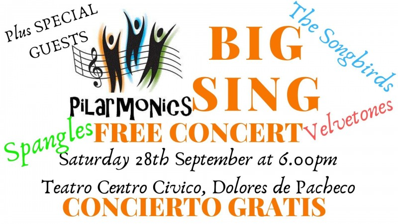 <span style='color:#780948'>ARCHIVED</span> - 28th September Free concert at the Teatro Centro Civico in Dolores de Pacheco