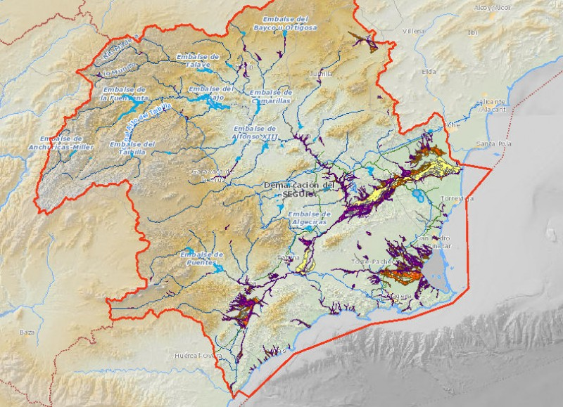How liable is your area of the Costa Cálida to flooding?