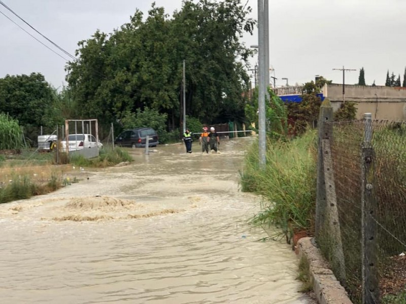 <span style='color:#780948'>ARCHIVED</span> - Rainfall total up to 195 millimetres in Molina de Segura