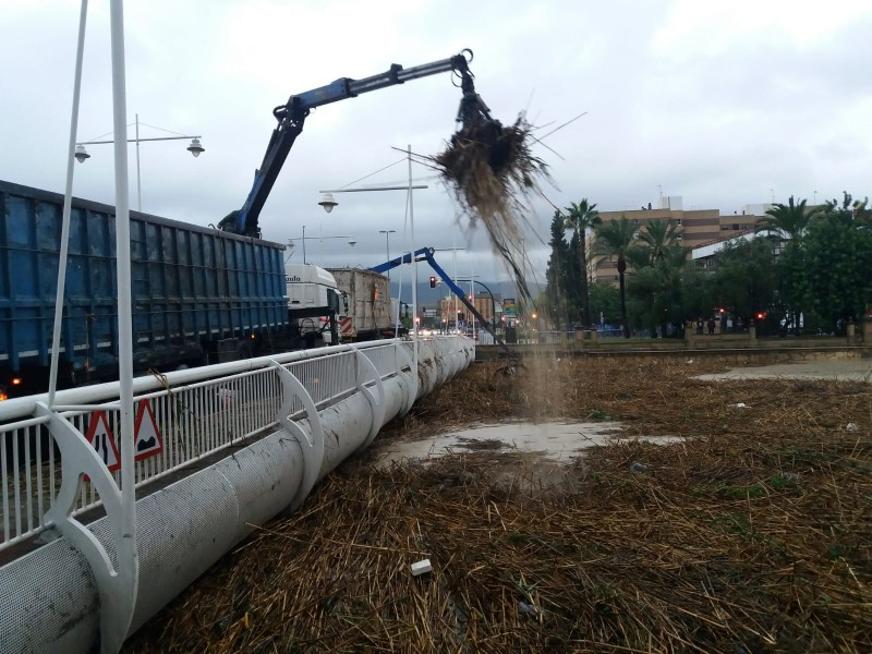 <span style='color:#780948'>ARCHIVED</span> - River Segura begins to burst its banks in Murcia