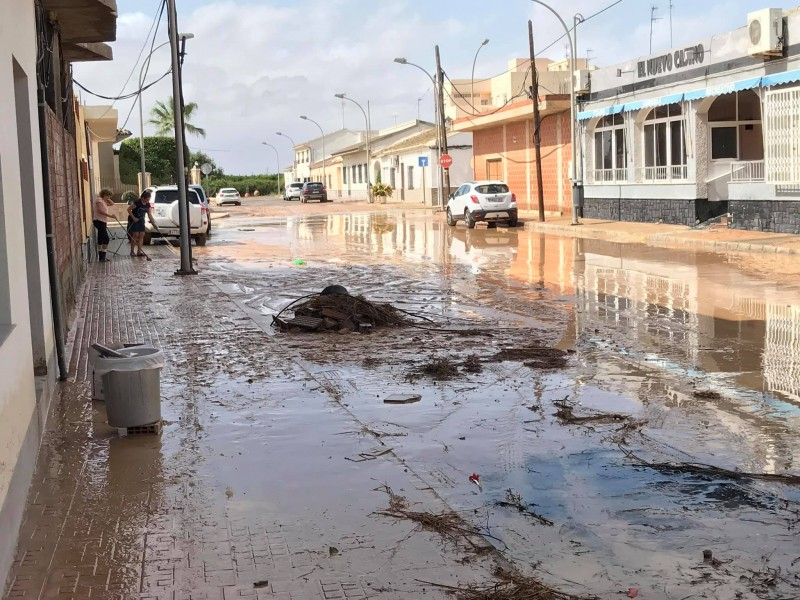 <span style='color:#780948'>ARCHIVED</span> - Over 300mm in San Javier; Video Avenida del Mar Menor flooding Murcia Gota Fria 2019