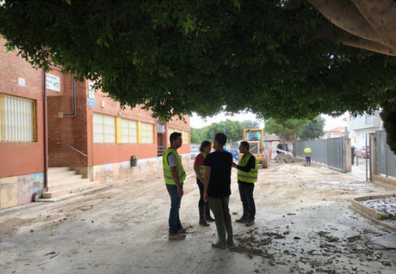<span style='color:#780948'>ARCHIVED</span> - Much of Murcia returns to normality after the devastating gota fría storm