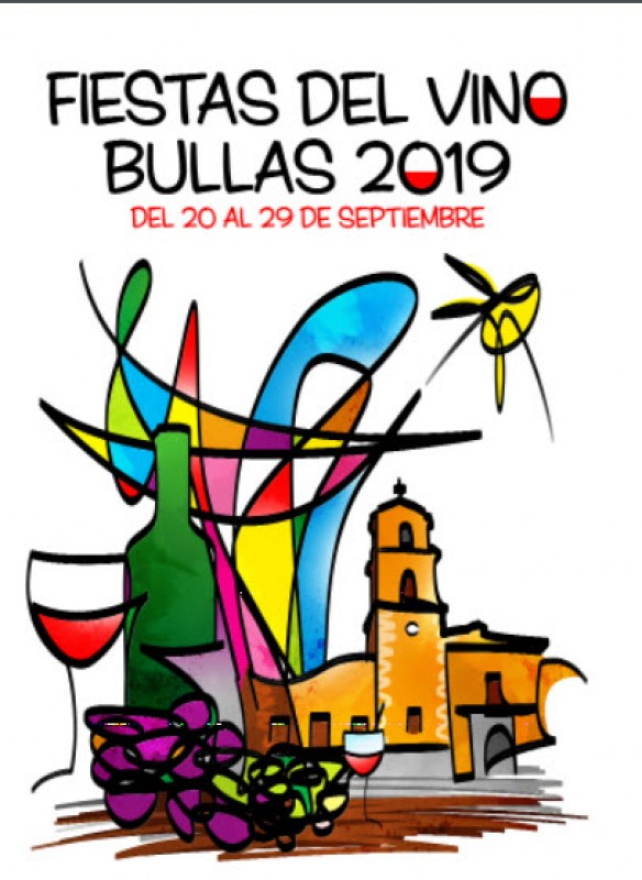 <span style='color:#780948'>ARCHIVED</span> - 20th to 29th  September Fiestas del Vino in Bullas