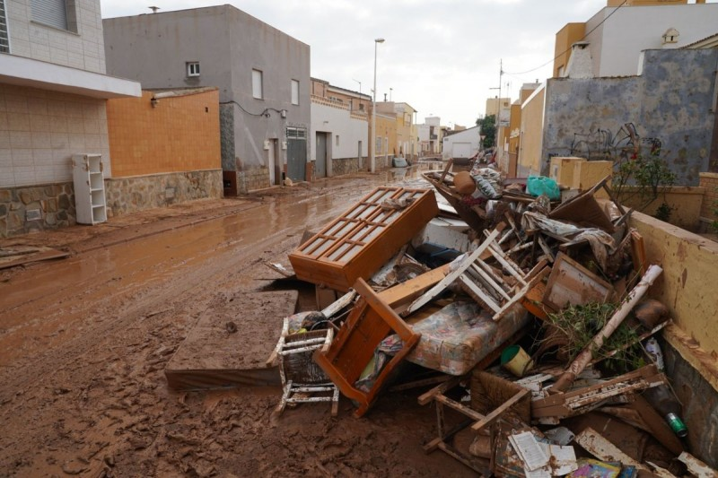 Murcia Gota Fría storm and flooding September 2019: overview