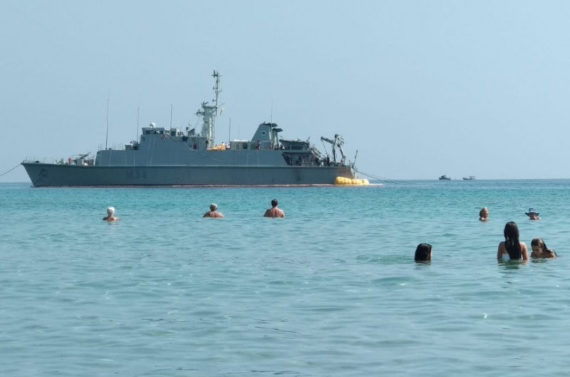 Minesweeper commander suspended from duty after running aground off La Manga