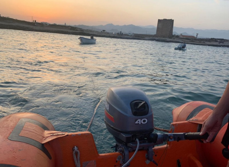 15 migrants intercepted off the coast of Águilas and Cartagena