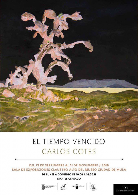 <span style='color:#780948'>ARCHIVED</span> - El Tiempo Vencido, Art Exhibition in Mula by Carlos Cotes