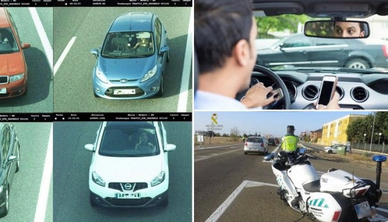 <span style='color:#780948'>ARCHIVED</span> - Video: 216 traffic cameras on Spanish roads in campaign against distraction driving