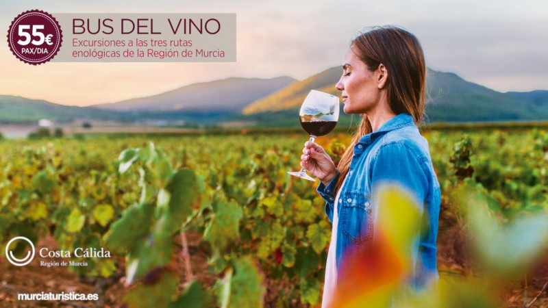 5th October, the Murcia Wine Bus visits the Ruta del Vino in Jumilla