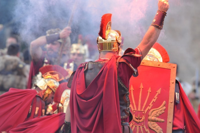 <span style='color:#780948'>ARCHIVED</span> - 20th to 29th September Romans and Carthaginians fiestas in Cartagena