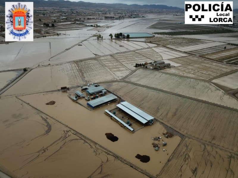<span style='color:#780948'>ARCHIVED</span> - Lorca seeks catastrophe zone status for the flooded area of Campillo