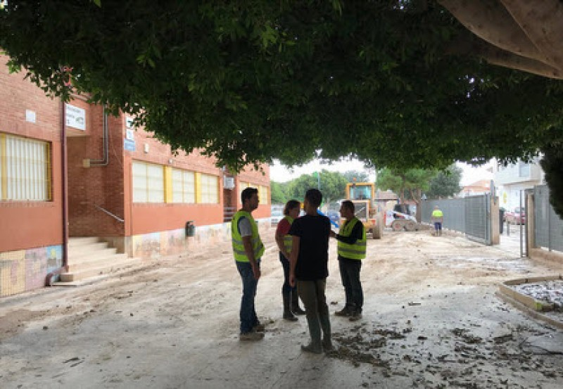 <span style='color:#780948'>ARCHIVED</span> - Schools begin to re-open in Los Alcázares a week after gota fría flooding
