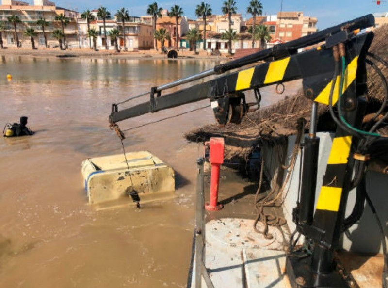 <span style='color:#780948'>ARCHIVED</span> - Bathing still forbidden at all San Javier beaches after gota fría storm