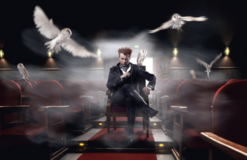 1st November, world champion magician Yunke at the Teatro Guerra in Lorca